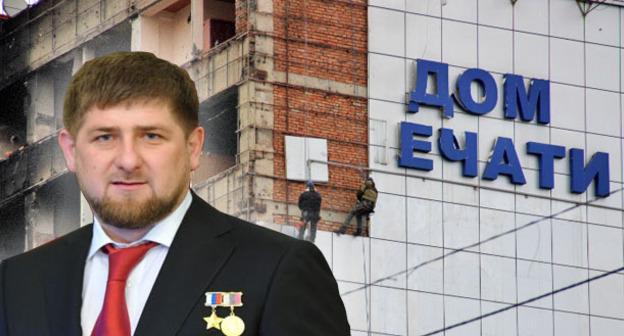 """Рамзан Кадыров. Фото: http://chechnyatoday.com/content/view/279250, Магомед Магомедов для """"Кавказского узла"""