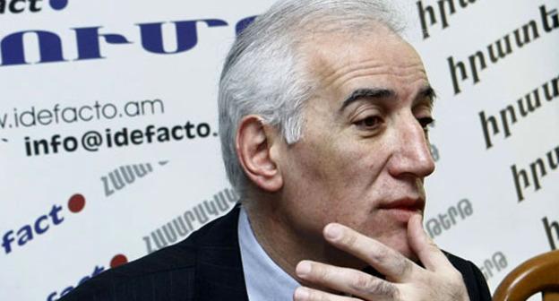 Экономист Ваагн Хачатрян. Фото http://www.panarmenian.net/rus/