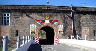 102-я военная база РФ в Республике Армения. Фото: пресс-служба Южного военного округа