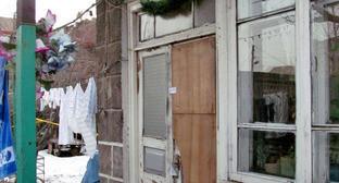 """Дом, в котором были расстреляны члены семьи Аветисян. Гюмри, 14 января 2015 г. Фото Тиграна Петросяна для """"Кавказского узла"""""""