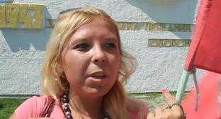 Дарья Полюдова. Кадр из видео пользователя Антона Полякова на http://www.youtube.com/watch?v=F5Lw9WV8s0A
