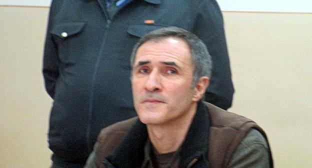 Вардан Петросян в зале суда. Фото: http://ru.aravot.am/2014/09/13/182987/