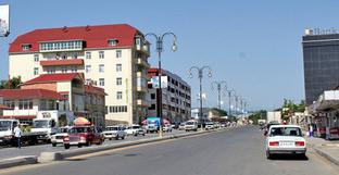 Центральная улица города Губы. Азербайджан. Фото: Gulustan https://ru.wikipedia.org/