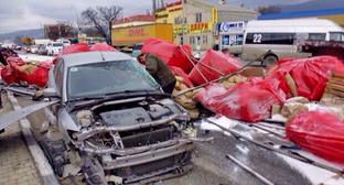 На месте ДТП в Новороссийске. 27 января 2015 г. Фото https://23.mvd.ru/news/item/3047355/