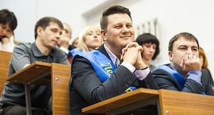 Встреча Дмитрия Ливанова с участниками конкурса «Учитель года России-2014». Фото: http://минобрнауки.рф/media/events/photos/big/41d50ae932b6c2ec1e50.jpg