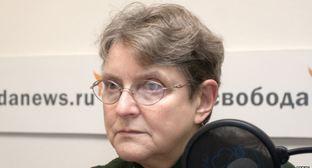 Председатель Комитета «Гражданское содействие» Светлана Ганушкина. Фото: RFE / RL, http://gdb.rferl.org/3AAEC8C3-9BAB-437A-9E30-4B429EE979D5_w748_r1_s.jpg
