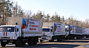 Гуманитарные конвои МЧС. Фото: http://www.mchs.gov.ru/