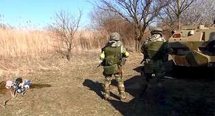 Силовики на спецоперации в Дагестане. Фото: http://nac.gov.ru/nakmessage/2015/02/28/v-dagestane-neitralizovany-shestero-banditov-aktivnaya-faza-kto-prodolzhaetsya.html
