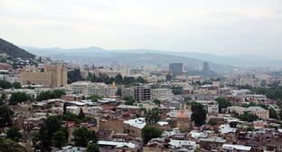 Тбилиси, Грузия. Фото Ахмеда Альдебирова для
