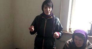 """Участница голодовки Эльмира Багирчаева. Фото Патимат Махмудовой для """"Кавказского узла"""""""