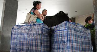 Беженцы с Украины. Фото: официальный порта губернатора и администрации Волгоградской области http://www.volganet.ru/news/2957/