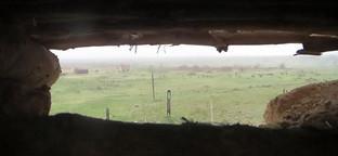 """Боевые позиции в зоне карабахского конфликта. Нагорный Карабах. Фото Алвард Григорян для """"Кавказского узла"""""""