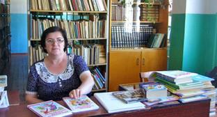 Библиотека школы №42 в Махачкале. Фото http://makhachkala42.dagschool.com/biblioteka.php