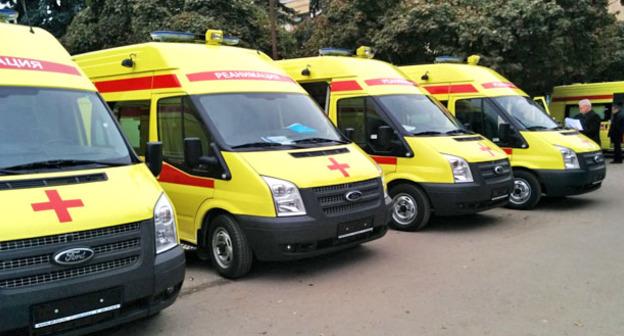 Машины скорой помощи. КБР. Фото http://pravitelstvo.kbr.ru/