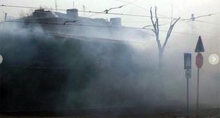 """Пожар на рынке """"Северный"""" в Волгограде. Фото: Владислав Кудрявцев, http://bloknot-volgograd.ru/news/v-volgograde-sgorel-rynok-severnyy-589066"""