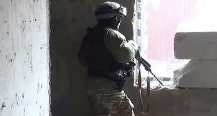 Сотрудник силовых структур. Фото http://nac.gov.ru/