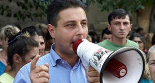 Лаша Чхартишвили. Фото: Александр Имедашвили, NEWSGEORGIA
