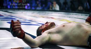 Боец на ринге. Фото: Piligrim, http://161.ru/text/gorod_online_column/906440.html?block
