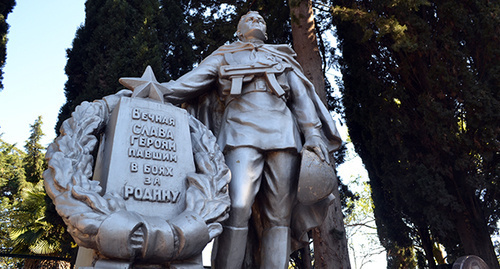 Памятник погибшим в ВОВ. Фото Светланы Кравченко