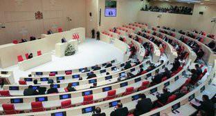 Парламент Грузии. фото: Facebook.com/Margvelashvili