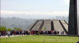 Мемориала памяти невинных жертв Геноцида. Фото: http://russia-armenia.info/node/8225