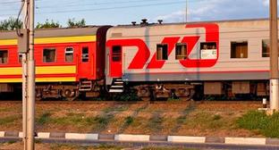 Поезд РЖД. Фото: Юрий Гречко / Югополис