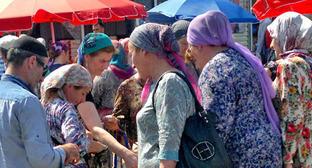 """Рынок в Грозном. Фото корреспондента """"Кавказского узла"""""""