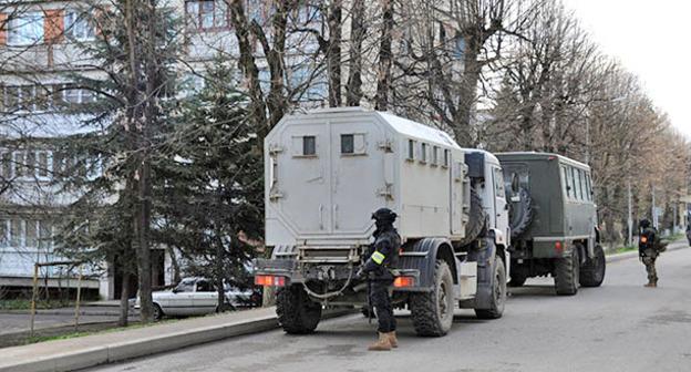 Спецоперация. Нальчик. Фото http://nac.gov.ru/