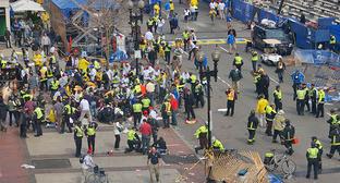 """Теракт в Бостоне. 15 апреля 2013 г. Фото: Aaron """"tango"""" Tang https://ru.wikipedia.org"""