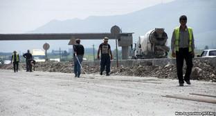 Строительство автомагистрали Тбилиси - Рустави. Фото: Мзия Саганелидзе, http://www.ekhokavkaza.com/content/article/27029389.html