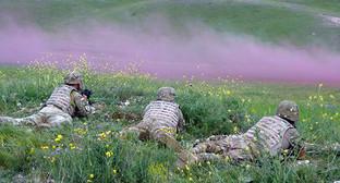 """Совместные грузино-американские военные учения «Достойный партнер», 24 мая 2015 год. Фото Инны Кукуджановой для """"Кавказского узла"""""""