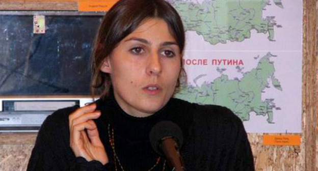 Екатерина Сокирянская. Фото http://old.sakharov-center.ru/museum/seminars/chechnya08102007/seminarimage4.php