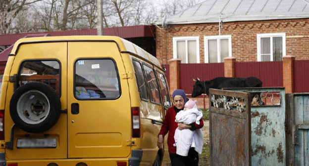 Сирийские беженцы. Фото: Владимир Аносов, ЮГА.ру