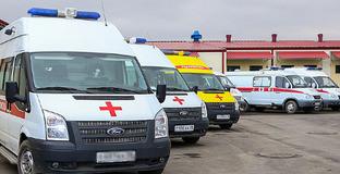 Машины скорой помощи. Фото: пресс-служба главы Ингушетии