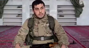 Халифат Надир Абу Халид в Сирии на джихаде. Кадр из видео пользователя kazim samu http://www.youtube.com/watch?v=LC_SB4cGcl0