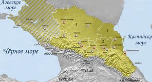 Карта Имарата Кавказ. Фото: Alfer1002 https://ru.wikipedia.org