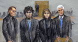 Рисунок из зала суда. Фото: http://gdb.voanews.com/EE99C00C-9B95-46E5-AD17-89E6388440D7_w640_r1_s_cx0_cy12_cw0.jpg