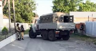 Сспецоперация в Нальчике. Фото: http://nac.gov.ru/nakmessage/2015/06/27/v-ingushetii-neitralizovany-dvoe-uchastnikov-mezhdunarodnoi-terroristicheskoi-.html