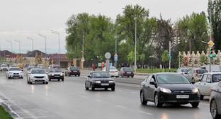 "На дорогах Чечни. Фото Магомеда Магомеда для ""Кавказского узла"""