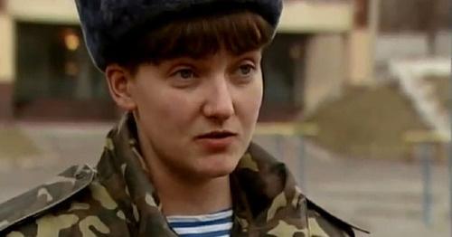 Надежда Савченко. Фото https://ru.wikipedia.org