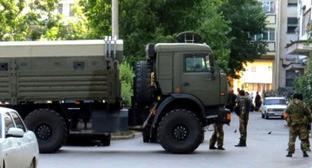 Спецоперация в Нальчике. 23 июля 2015 г. Фото http://nac.gov.ru/
