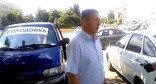 Геннадий Ворабьев во время голодовки. Ставропольский край, июль 2015 г. Фото http://bloknot-stavropol.ru/