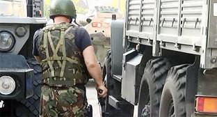 Представитель силовых структур на спецоперации. Фото: http://nac.gov.ru/nakmessage/2015/06/27/v-ingushetii-neitralizovany-dvoe-uchastnikov-mezhdunarodnoi-terroristicheskoi-.html
