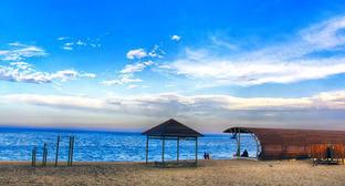 Пляж в Махачкале. Фото: Шамиль Гасанов http://www.odnoselchane.ru/