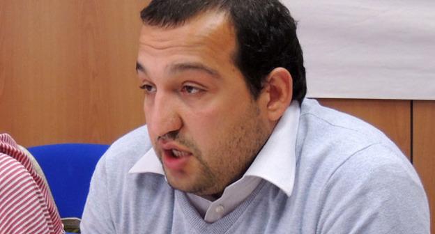 Симон Папуашвили. Фото пользователя CICC Europe Regional Strategy Meeting https://www.flickr.com/photos/coalitionforicc/sets/72157634596564700