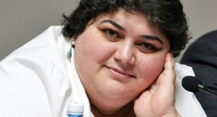 Хадиджа Исамайлова. Фото: http://amnesty.org.ru/ru/2014-12-08-izmailova/