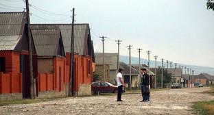 """Сельская улица в Чечне. Фото Магомеда Магомедова для """"Кавказского узла"""""""