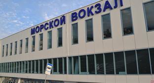 Морской вокзал в Сочи. Фото Светланы Кравченко
