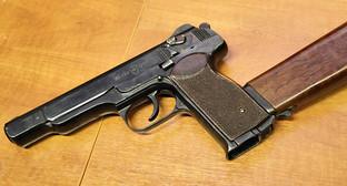 9-мм автоматический пистолет Стечкина АПС. Фото: Vitaly V. Kuzmin, https://ru.wikipedia.org/wiki/Автоматический_пистолет_Стечкина#/media/File:Stechkin_APS.jpg