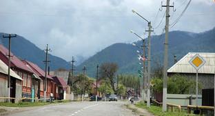 "Село Ведено, Чечня. Фото Магомеда Магомедова для ""Кавказского узла"""